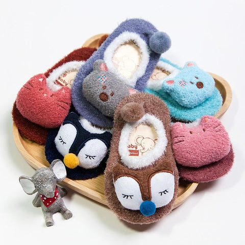 Winter Baby Fleece Home Socks - petitelapetite