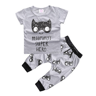 Cute Monster and Lion Print Set - Petite La Petite