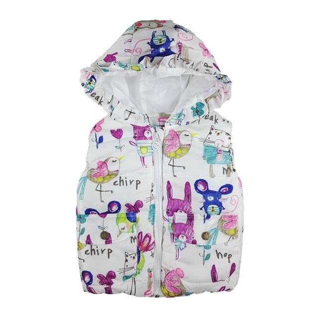 Animal Cartoons Vest - petitelapetite