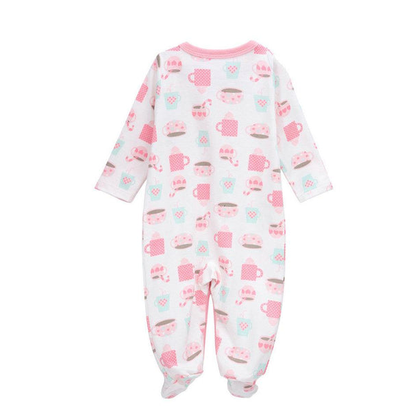 Assorted Soft Cotton Jumpsuits - age: 3M to 12M - Petite La Petite