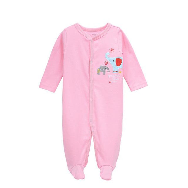 Assorted Soft Cotton Jumpsuits - 3M to 12M - petitelapetite