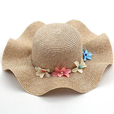 Summer Floral Straw Hat