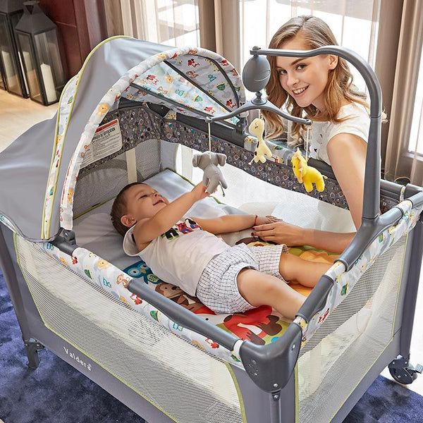 Portable Folding Baby Bed - Option B - petitelapetite