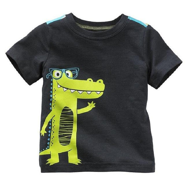 Digger Boys Summer Cotton T-Shirts - 18 months to 6 years old - petitelapetite