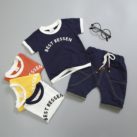 Solid Color Summer Sets - 6 months old to 24 months old - Petite La Petite