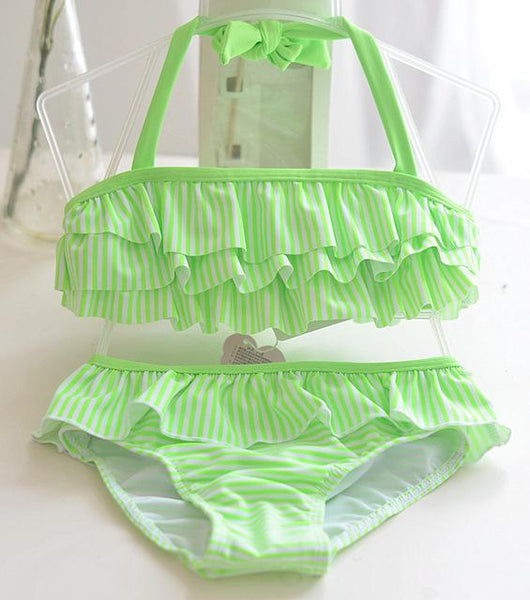 Summer Striped Bathing Suits - 1 year old to 8 years old - petitelapetite
