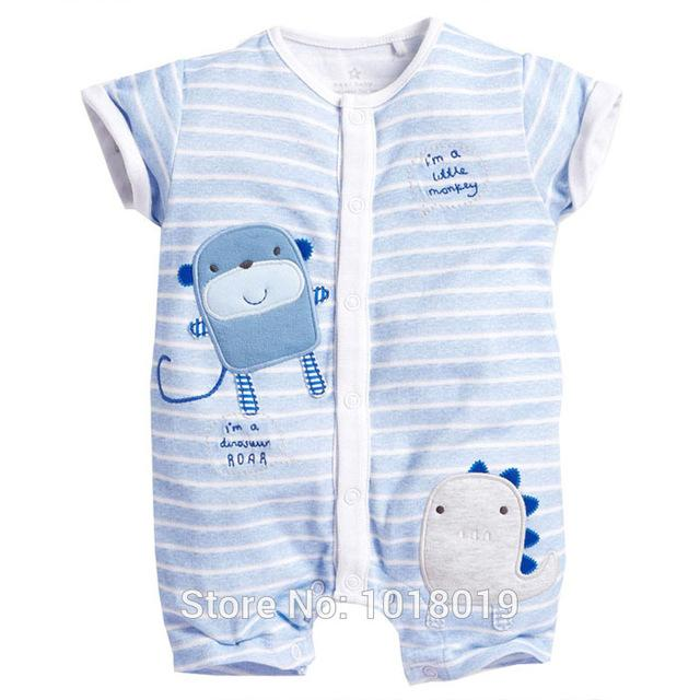 2cf6697bdb1d Summer 100% Cotton Ropa Bebe Creeper Romper - 6 months to 24 months ...