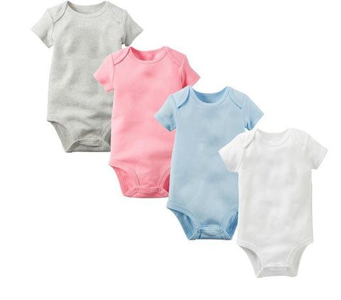 Solid Plain Color Rompers - Petite La Petite