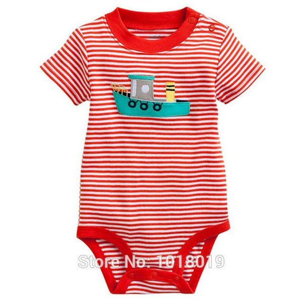 Summer 100% Cotton Ropa Bebe Creeper Romper - 6 months to 24 months - petitelapetite