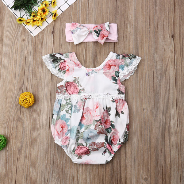 Ophelia Romper Outfit Set - babies 6M to 24M - petitelapetite