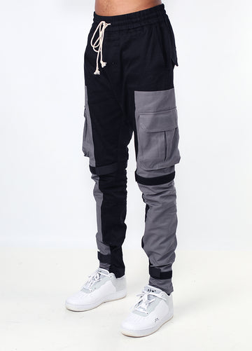 Black & Grey Pocket Cargo