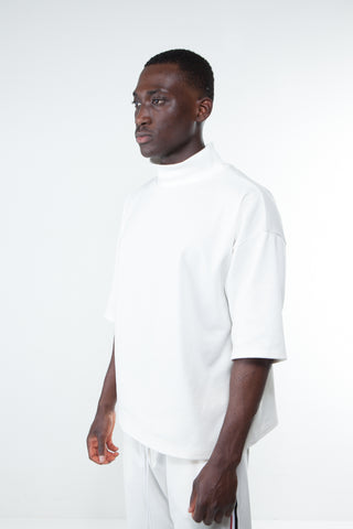White Milano Turtleneck