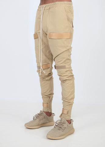 Beige Scratch V2 Pants