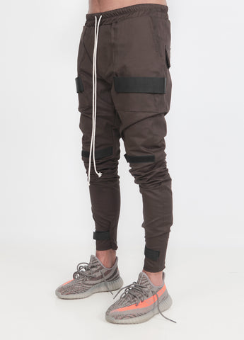 Brown Scratch V2 Pants