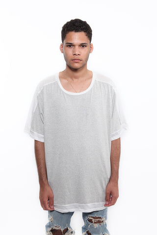 "Grey ""Outline"" T-Shirt"