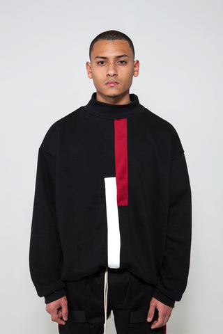 Geo Turtleneck Sweater
