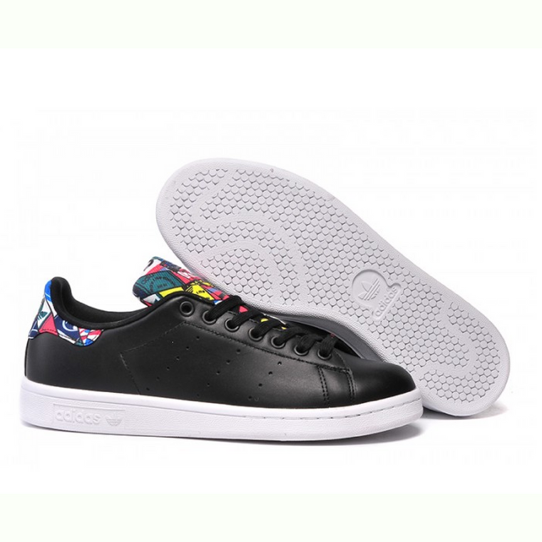 adidas Stan Smith Black Multi-color