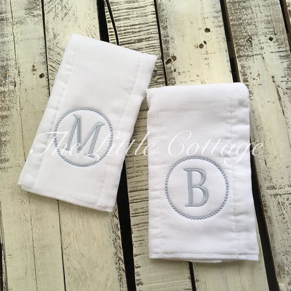 Cloth Diaper with Initial