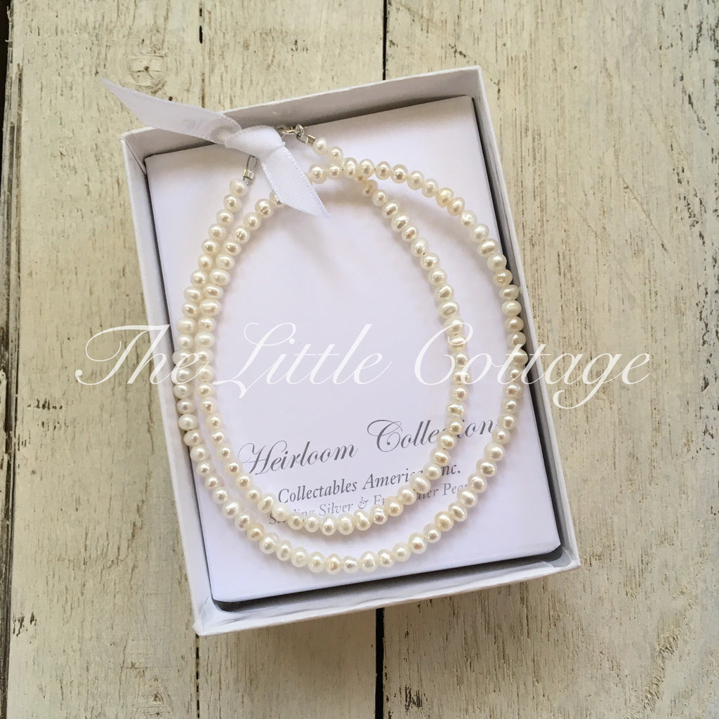 Heirloom Collection Pearl Necklace