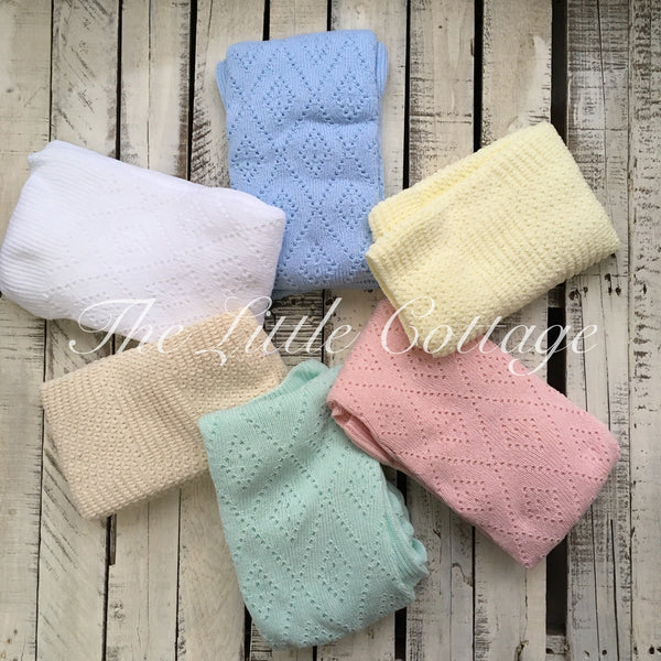 Knitknacks Cotton Knitted Blanket