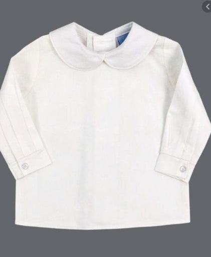 Bailey Boys Ivory Piped Shirt