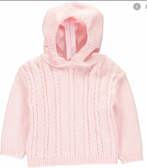 Hooded Pink Sweater