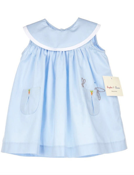 Sophie & Lucas Lazy Bunny Dress