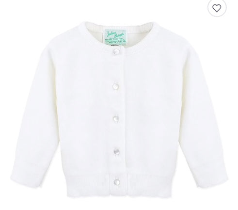 White Cardigan Julius Berger