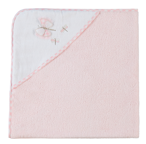 Mayoral Embroidery Towel -Baby Rose