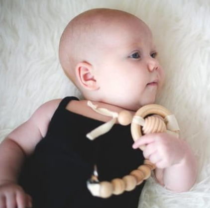 Clover and Birch Wooden Teethers & Toys