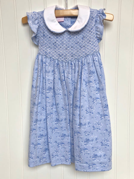 French Toile Dress
