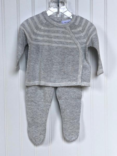 Take Me Home Sweater Set- Gray