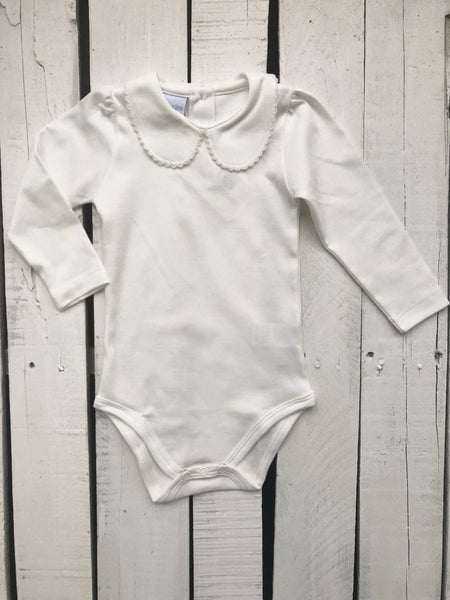Squiggles Girls Ivory Long Sleeve