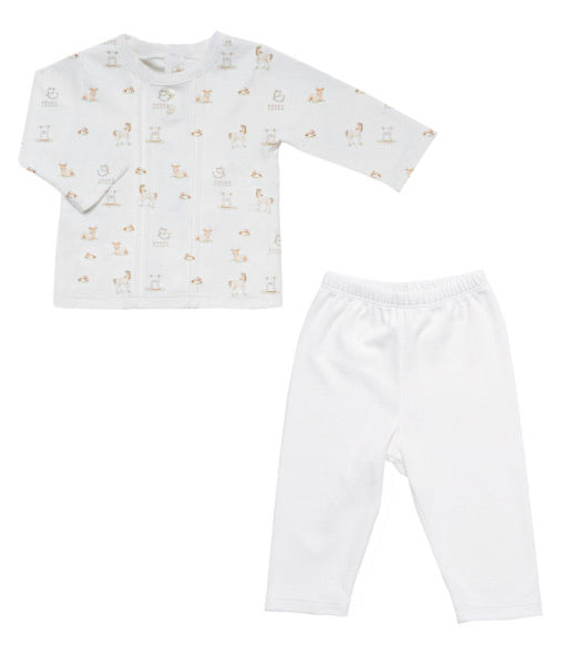 Baby Club Happy Farm Tee and Pant Set