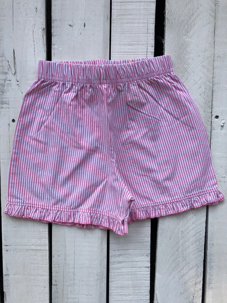 Luigi Pink Striped Shorts