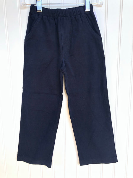 Bailey Boys Navy Cord Pant