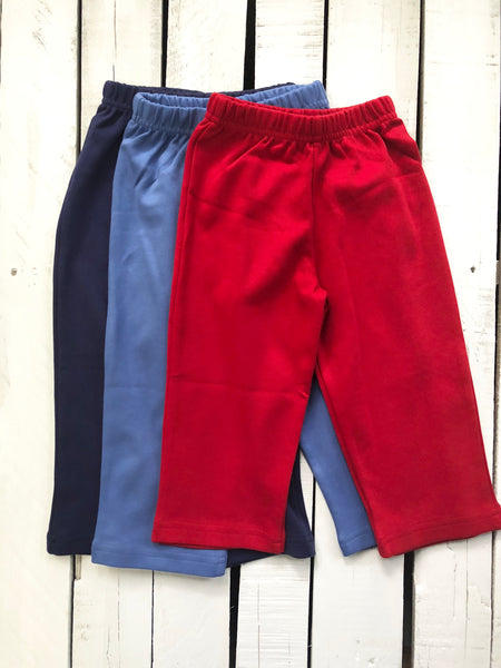 Luigi Interlocking Pima Boy Pants