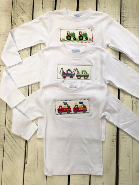 Smocked Boy's Shirts