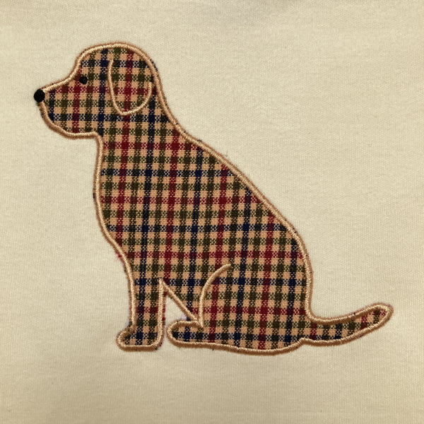 Dog Applique T-shirt