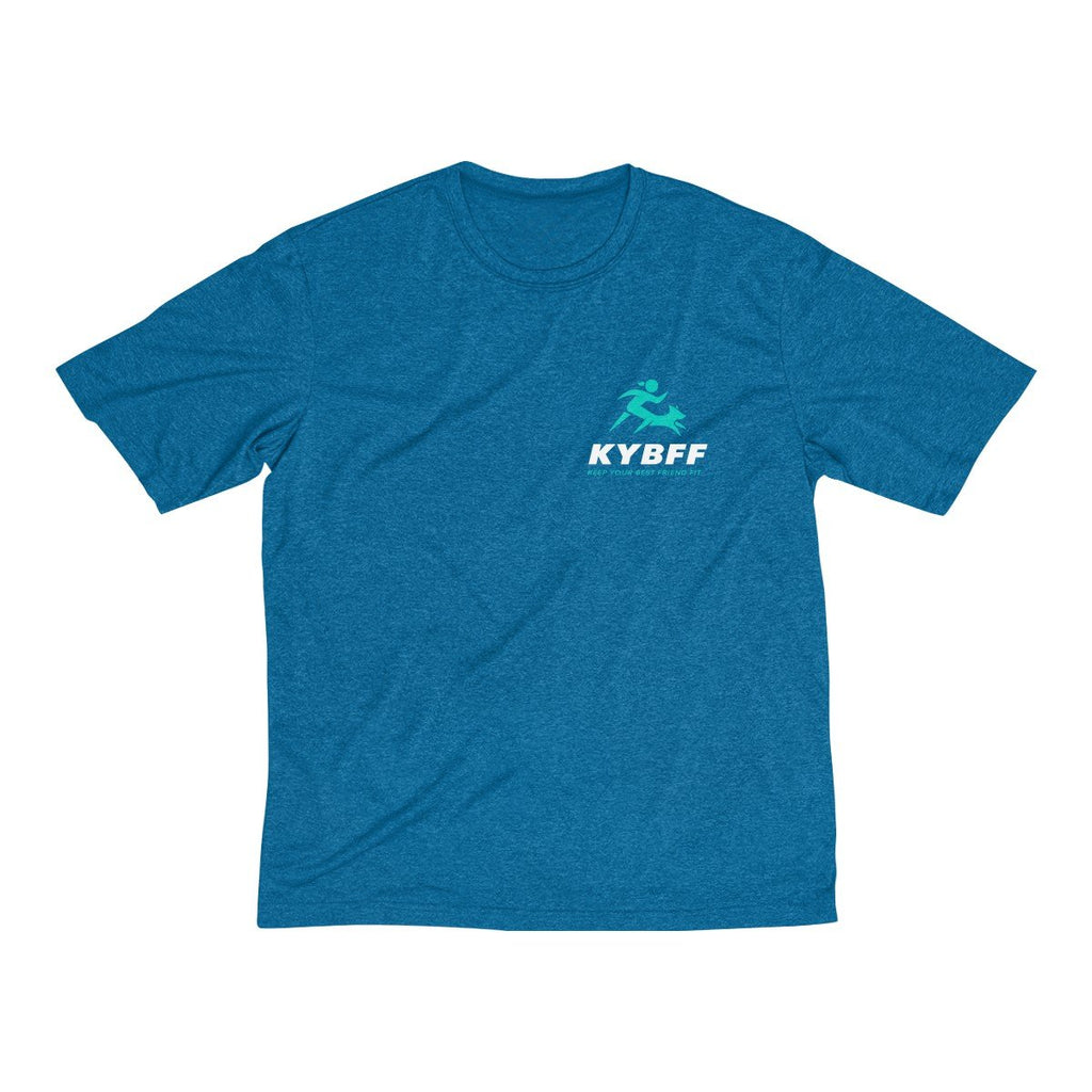 Keep Your Best Friend Fit Men's Heather Dri-Fit Tee