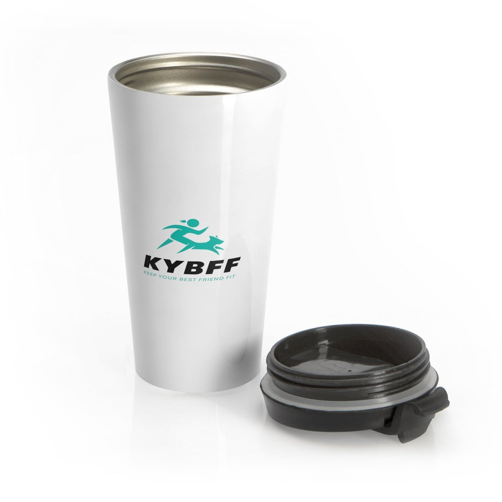 Keep Your Best Friend Fit Stainless Steel Travel Mug