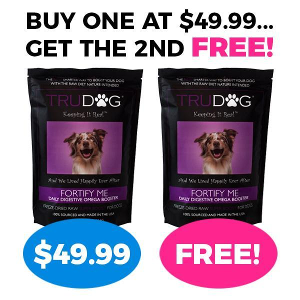 Buy one, Get One Free - Fortify Me Freeze Dried Raw Food Topper for Dogs 1 LB. UPGRADE