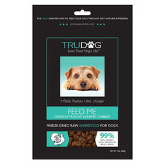FEED ME Raw Dog Food - Crunchy Munchy Gourmet Gobbler Turkey Real Meat Super Food