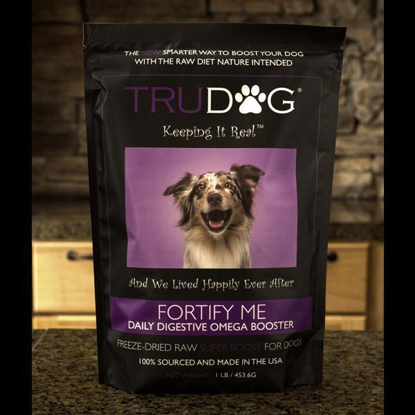 Fortify Me Freeze Dried Raw Food Topper for Dogs- 1 LB. 6 pack $23