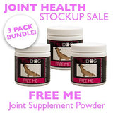 Joint Health Stock up sale - 3 packs of Free Me powder or Free Me Chews