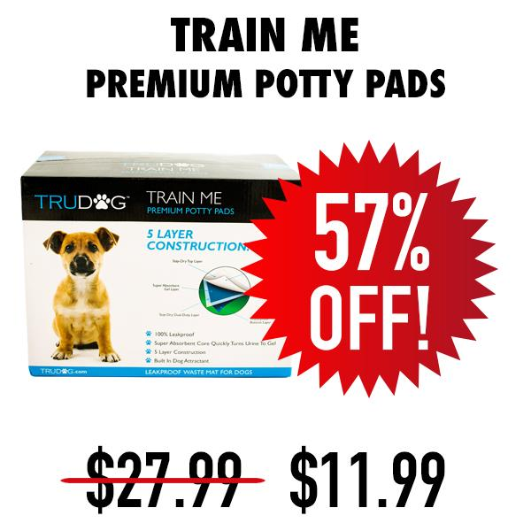 Inventory Blowout Train Me Puppy Pads
