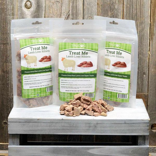Treat Me Lamb Liver Treats 3 Pack - LIMITED EDITION