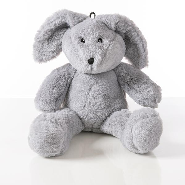 Plush Rabbit Gray