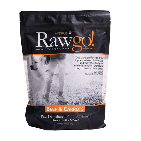 Rawgo Beef & Carrots Dehydrated Raw Superfood 2.2 lbs