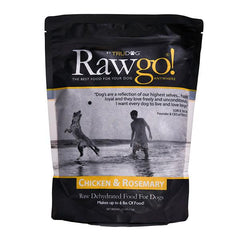 Chicken and Rosemary Rawgo Dehydrated Raw Dog Food  (2.2lbs – Makes 6 lbs. of Food!)